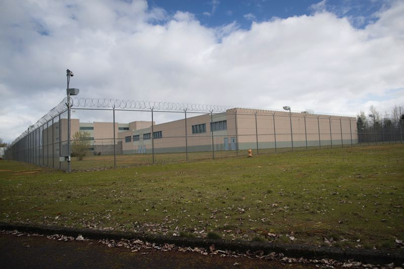 PORTLAND TRIBUNE: JAIME VALDEZ - The back side of Wapato Corrections Facility.