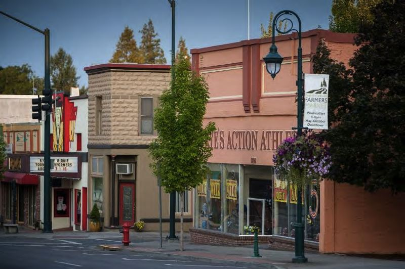 COURTESY PHOTO: CITY OF FOREST GROVE - The way that downtown Forest Grove looks is of prime concern to the Forest Grove City Council, which discussed potential streetscape improvements Monday night.