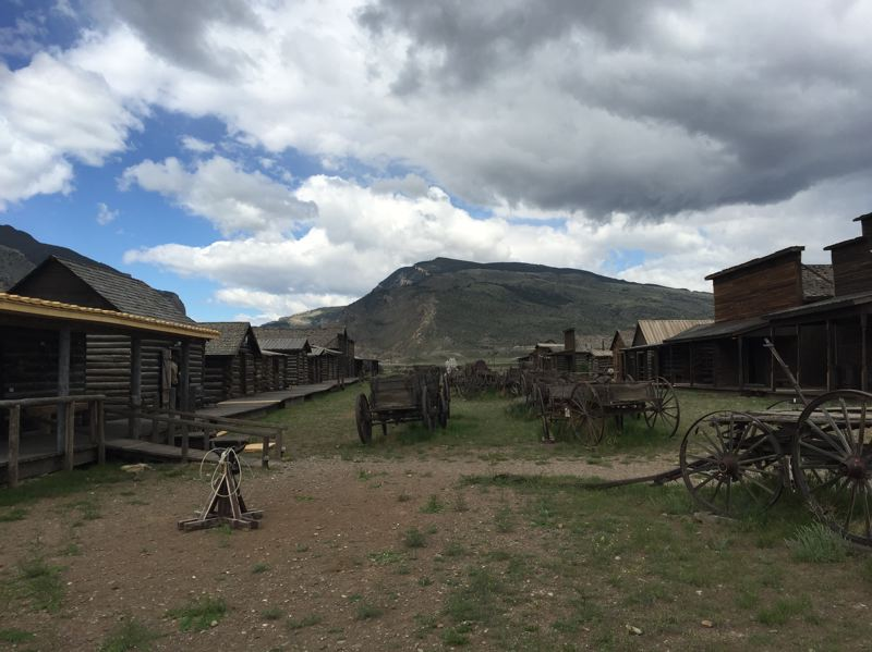 CONTRIBUTED PHOTO: LILA REED - Old Trail Town, on the northern end of Cody, is a re-creation of historic buildings and cabins once belonging to such legendary outlaws as Butch Cassidy and the Sundance Kid. Visitors will also find Old West artifacts and the gravesites of several notable Western people.