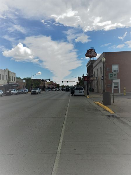 CONTRIBUTED PHOTO: LILA REED - Downtown Cody, Wyo., has held on to its western roots by refurbishing numerous historic buildings. Many are now home to restaurants, family owned businesses and even a hotel or two.