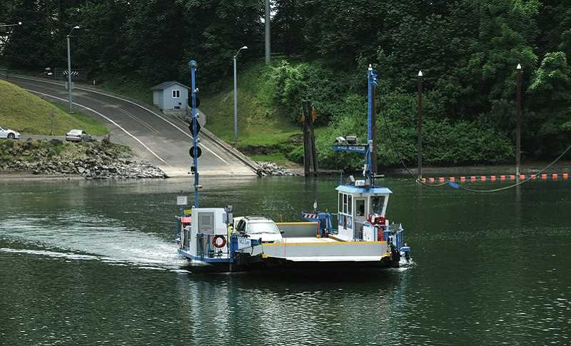 VERN UYETAKE - Is the Canby Ferry in danger of closing? Clackamas County has announced it will conduct a feasibility study through the fall on whether it's financially practical to continue running the ferry.