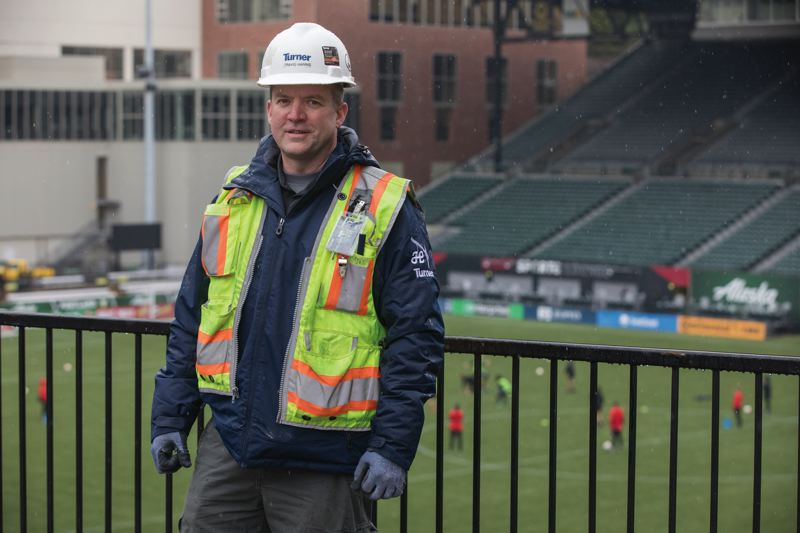 "PAMPLIN MEDIA GROUP: JONATHAN HOUSE - ""We took this whole concourse down to the ground and up again in five months,"" Travis Harris, project superintendent with Turner Construction, told the Business Tribune."