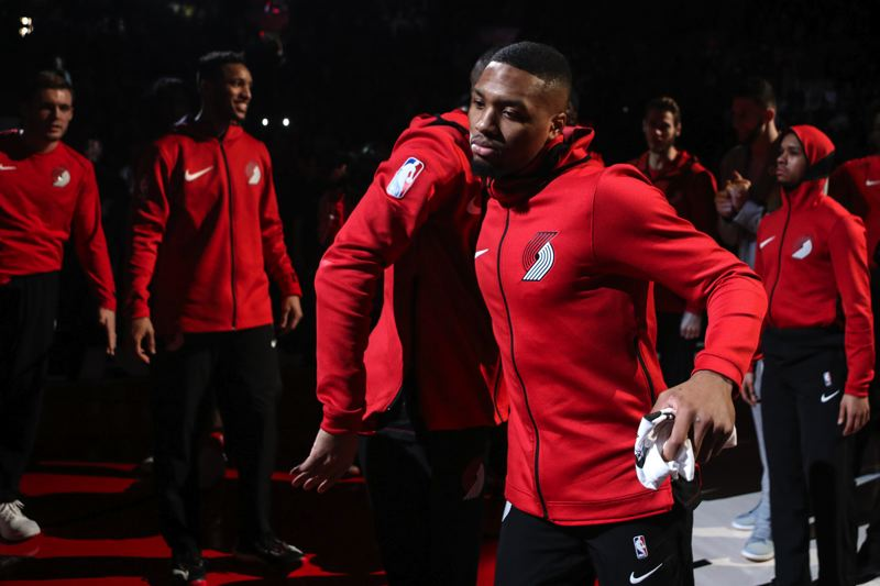 TRIBUNE PHOTO: DAVID BLAIR - The Trail Blazers, led by guard Damian Lillard, need no introduction to the NBA playoffs, but they ran hot and cold late in the regular season.