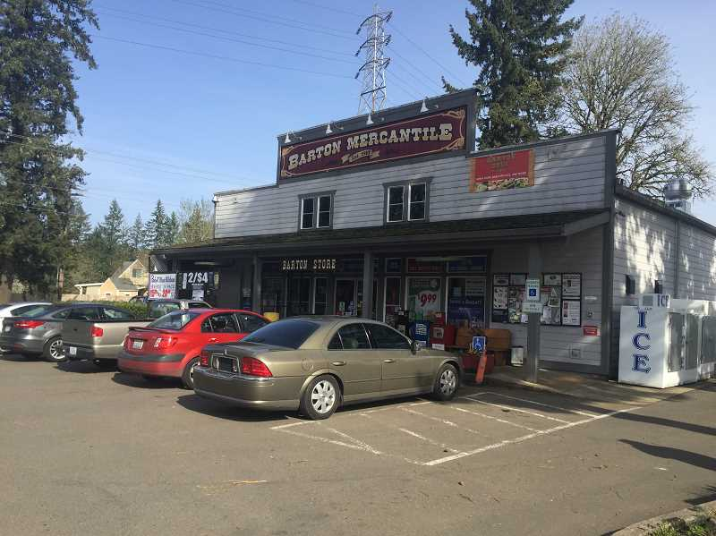ESTACADA NEWS PHOTO: EMILY LINDSTRAND - Don Burton is planning a series of Christmas events at locations in Barton, including the Barton Store.