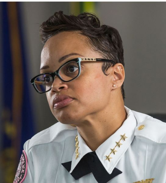 PORTLAND TRIBUNE FILE PHOTO - Police Chief Danielle Outlaw