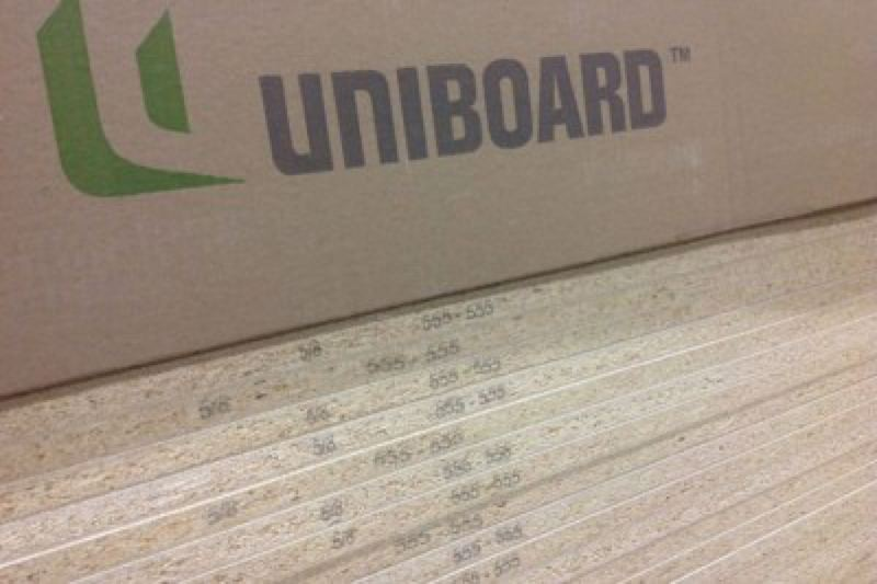 COURTESY: EARTHTALK - Uniboard is one of the leading particle board alternatives out there that don't use toxic formaldehyde to bind its filler material together.
