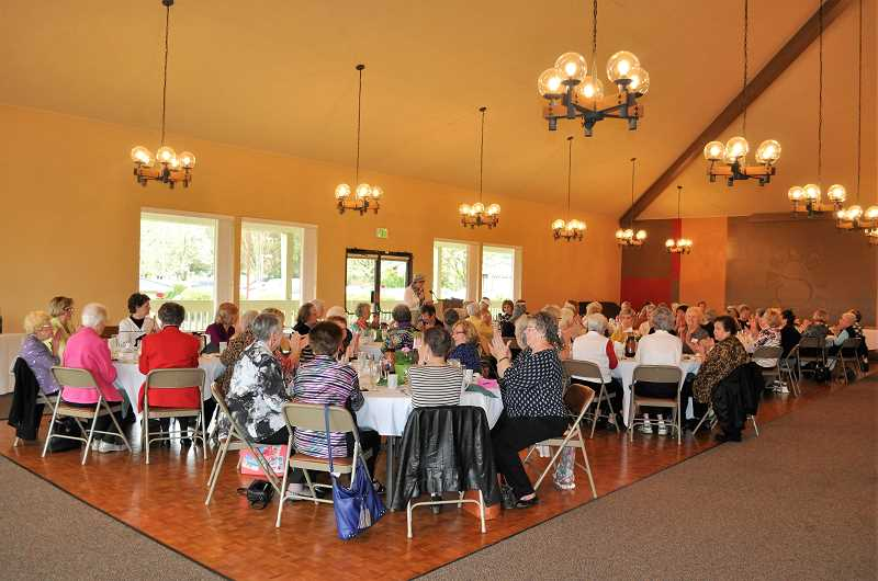 ALL PHOTOS BY BLAIR STENVICK - The Summerfield Women's Golf Club held their annual opening luncheon on Thursday, April 5.
