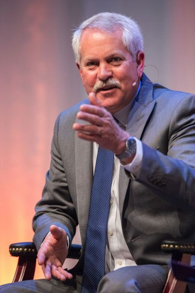PAMPLIN MEDIA GROUP FILE PHOTO - Oregon Business & Industry CEO Mark Johnson stepped down Wednesday after he was accused of making inappropriate comments about a Hispanic legislator.
