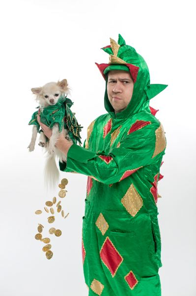 COURTESY: COREY FOX - Piff the Magic Dragon does magic and comedy and sidekick Mr. Pifffles reads minds and tells the future.