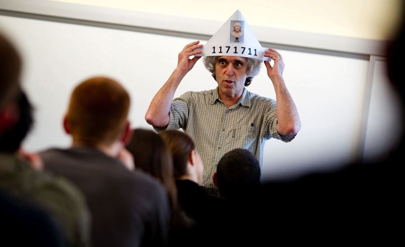 PAMPLIN MEDIA GROUP FILE PHOTO - University of Portland Professor Aziz Inan is a numbers guy.