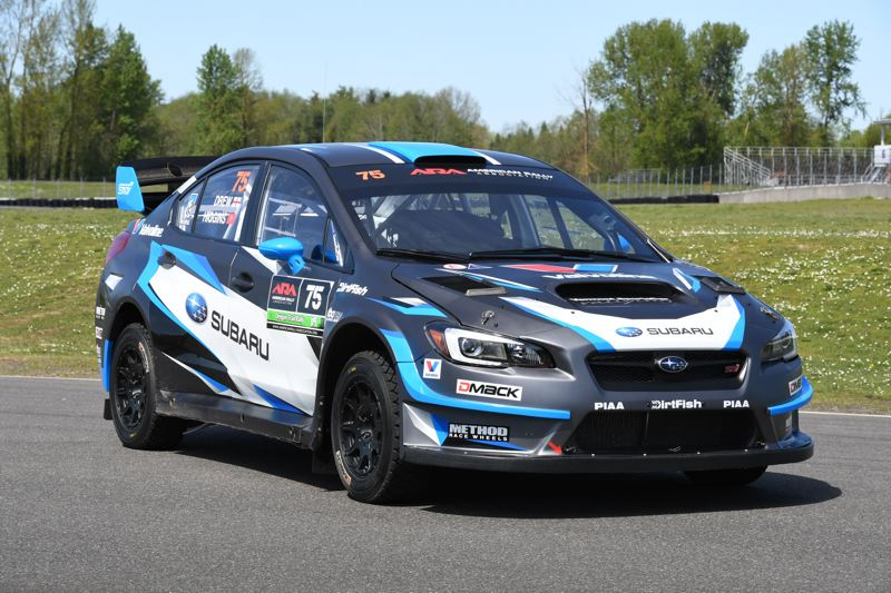 COURTESY SUBARU RALLY TEAM USA - Subaru Rally Team USA driver David Higgins will also be at PIR.