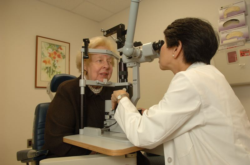 CONTRIBUTED PHOTO: NATIONAL INSTITUTES OF HEALTH  - Failing eyesight can contribute to falls.