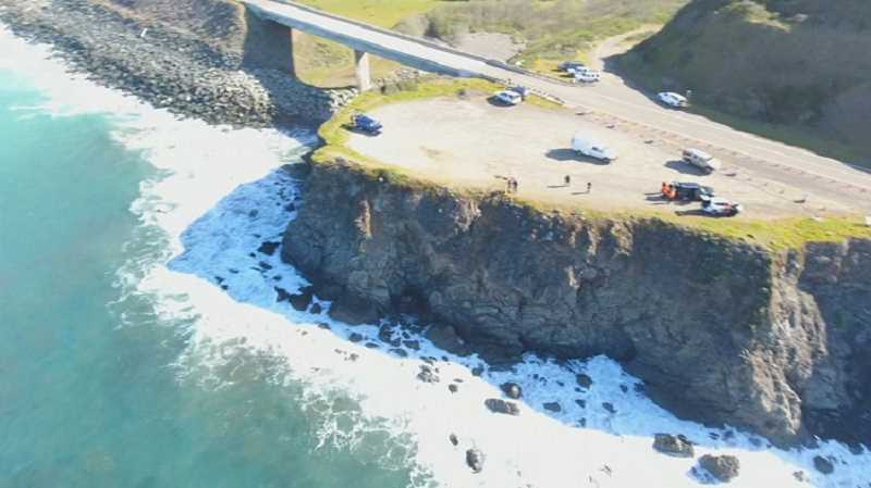 PHOTO COURTESY: KGW - Authorities announced Friday that the driver of an SUV that drove off a cliff March 26, killing at least five family members including herself, was intoxicated at the time of the crash with a Blood Alcohol Content of .102.