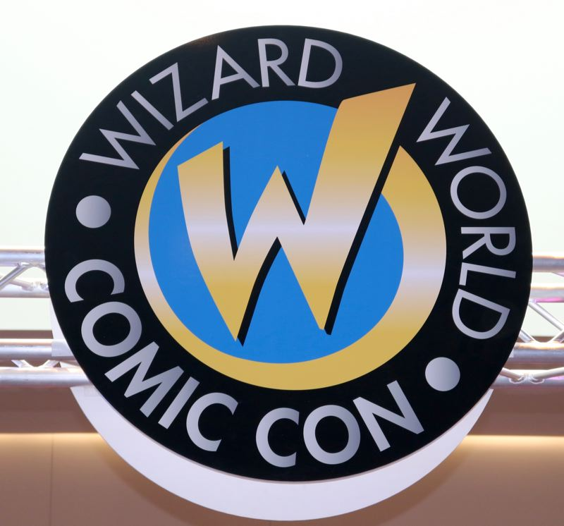TRIBUNE PHOTO: ZANE SPARLING - The logo for Wizard World Comic Con.