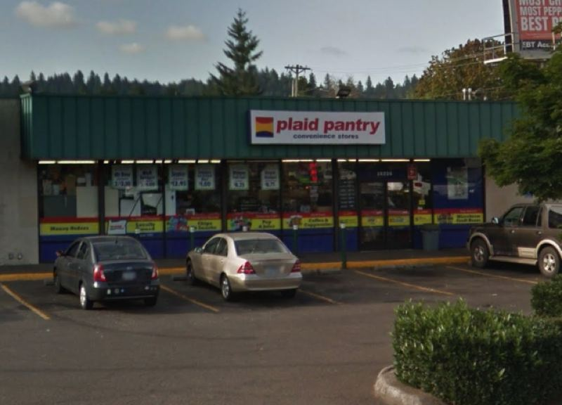 COURTESY GOOGLE MAPS - The Plaid Pantry located at 16226 S.E. Division Street.
