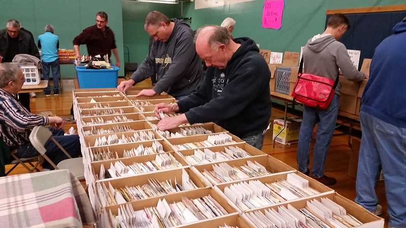 JOHN BAKER - Music enthusiasts of all kinds were on hand at the Ackerman School Sunday for the Record Bonanza music memorabilia show.