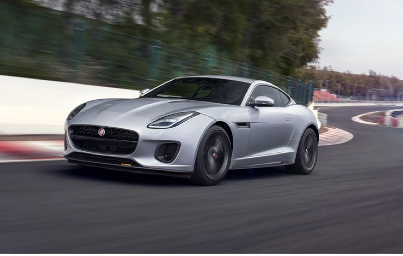 COURTESY JAGUARY - The 400 Sport is available in coupe or convertible bodies painted in silver, black, or white only. All come with a 400 horsepower supercharged V6, hence the name.
