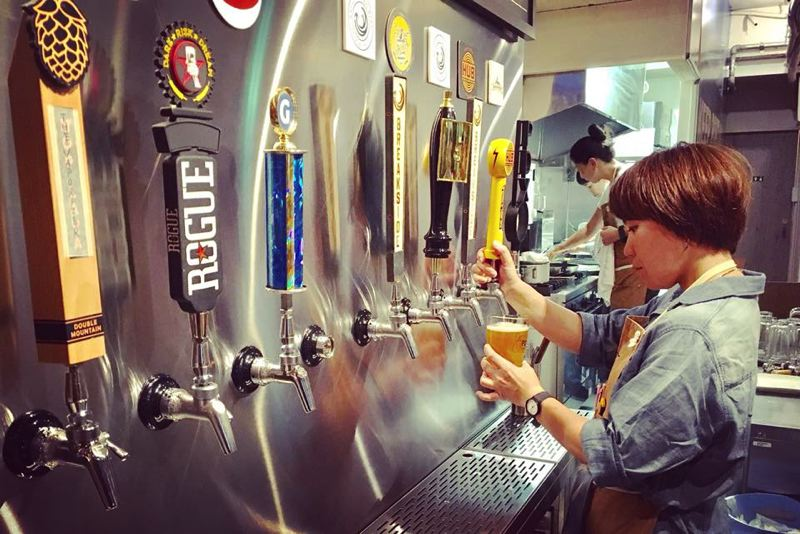 COURTESY: FUJI TO HOOD - Portland craft brews are hot in Japan; the PDX Taproom in Tokyo offers 10 beers on tap. Now, Portland beer enthusiasts can taste their collaboration beers and meet the brewers at the inaugural April 21 Fuji to Hood event.