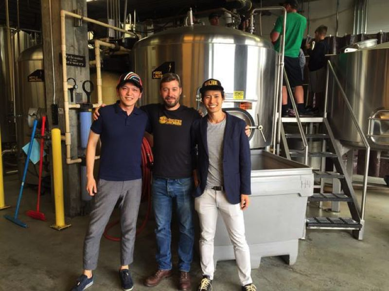 COURTESY: FUJI TO HOOD - Portland's Hopworks and Japan's Nihonbashi Brewing created a special Hinoki lager, a sake-inspired rice lager. Each collaboration beer uses at least one Japanese ingredient.
