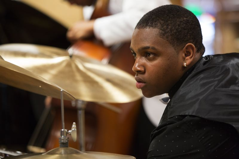 COURTESY: RON STONE/MONTEREY JAZZ FESTIVAL - Portland's Dominick Branch has been invited to be part of the first NYO Jazz group, which plans a European tour.