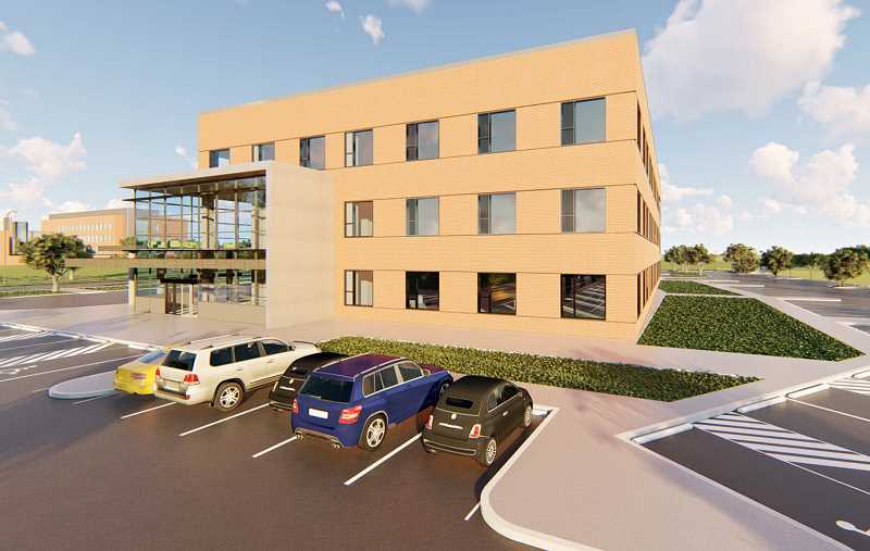 RENDERING COURTESY OF PNMC - Expansion of Providence Newberg Medical Center will begin this sumer and is expected to be completed in fall 2019.