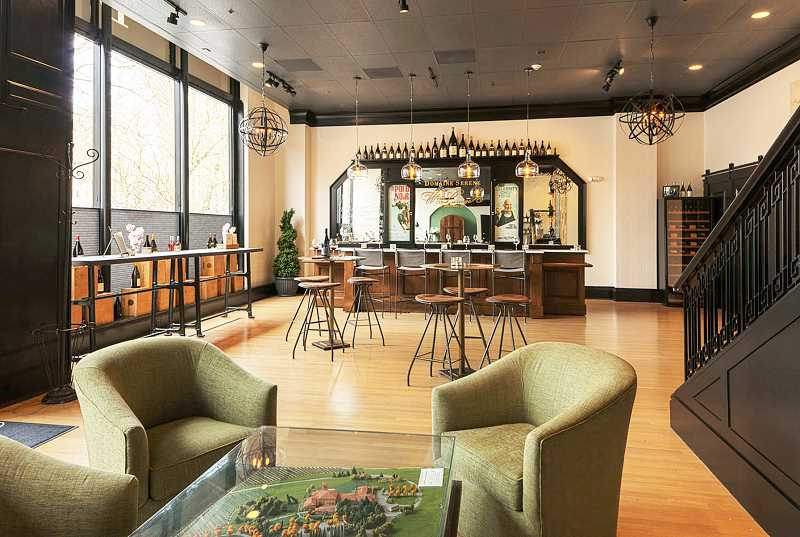 SUBMITTED PHOTO - Domaine Serene has constructed a wine lounge at the Sentinel Hotel in Portland, reportedly the first one of its kind in the country.