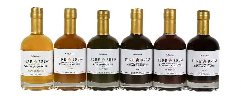 Fire Brew health tonics are considered a liquid multivitamin. The tonics stimulate digestion, reduce inflammation, relieve muscle soreness and break up congestion, among other benefits.