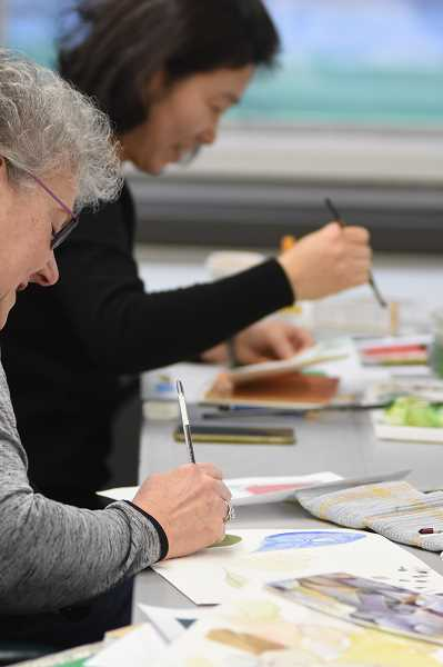 SUBMITTED PHOTO  - Adult watercolor classes are offered through Lake Oswego Parks & Recreation because, well, art is for everyone.