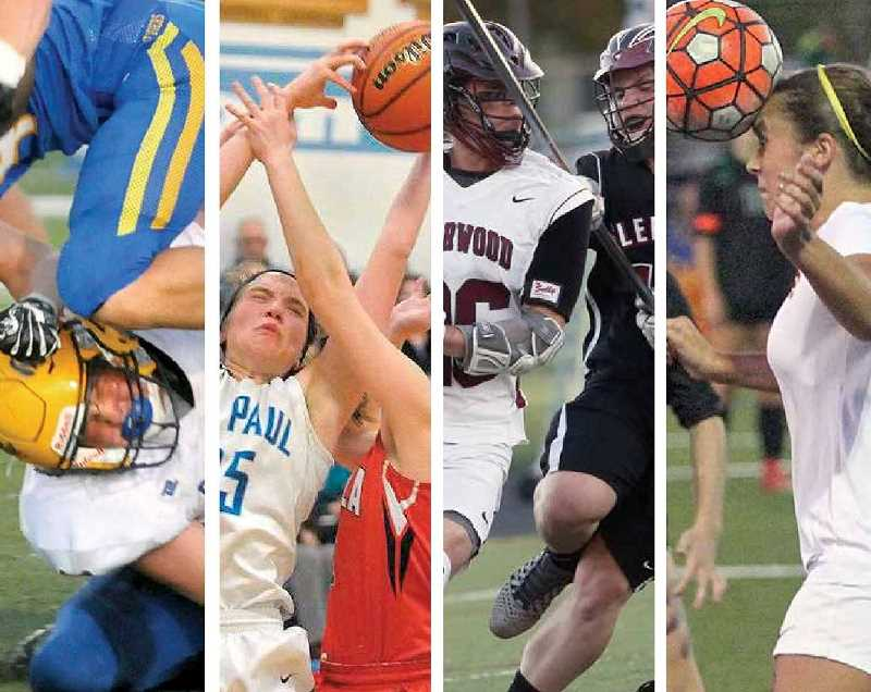 PAMPLIN MEDIA GROUP FILE PHOTOS - While much of the national concussion discussion has focused on football, research has shown that repeated minor impacts to the head, common in many sports, can cause as much damage as a dramatic blow.