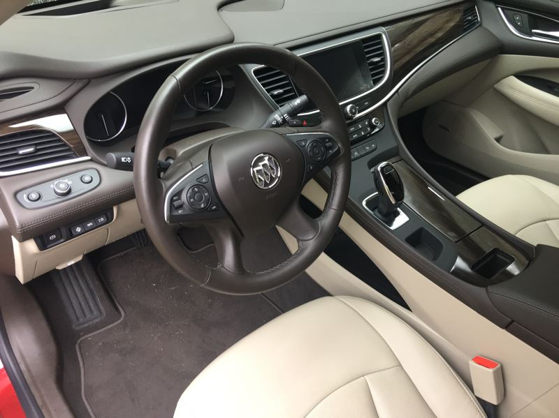 PORTLAND TRIBUNE: JEFF ZURSCHMEIDE - Inside, the LaCrosse earned a 10 Best Interiors award from Wards Auto, and it's the first Buick ever to make that list.