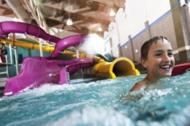 COURTESY NORTH CLACKAMAS AQUATIC PARK - A child swims inside the North Clackamas Aquatic Park.