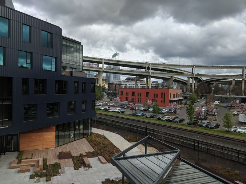 PAMPLIN MEDIA GROUP: JOSEPH GALLIVAN - Adpearance has taken a floor in the newly opened Field Office development on Northwest Front Ave. With skater-friendly courtyard and views south past the Fremont Bridge, developers hope it will catalyze the previously quiet industrial neighborhood.