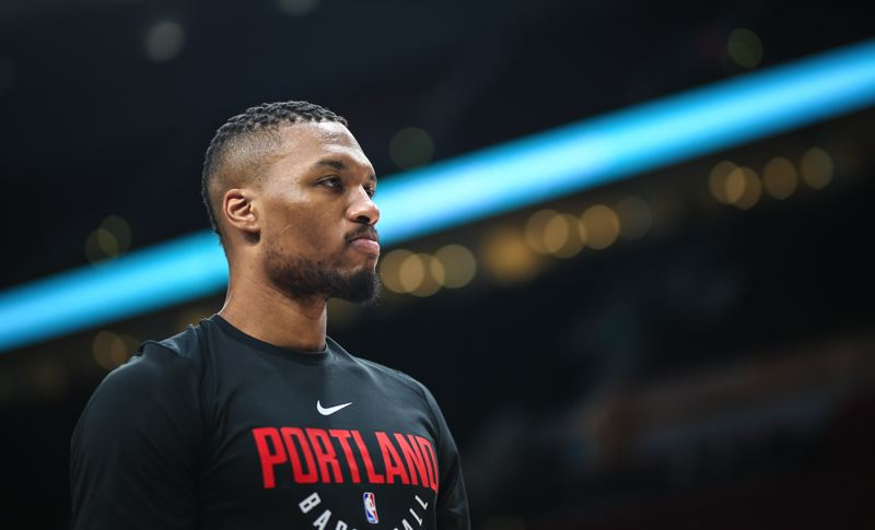 TRIBUNE FILE PHOTO: DAVID BLAIR - Guard Damian Lillard says he is keeping a level head about the Trail Blazers' surprising 4-0 playoff loss to the New Orleans Pelicans.