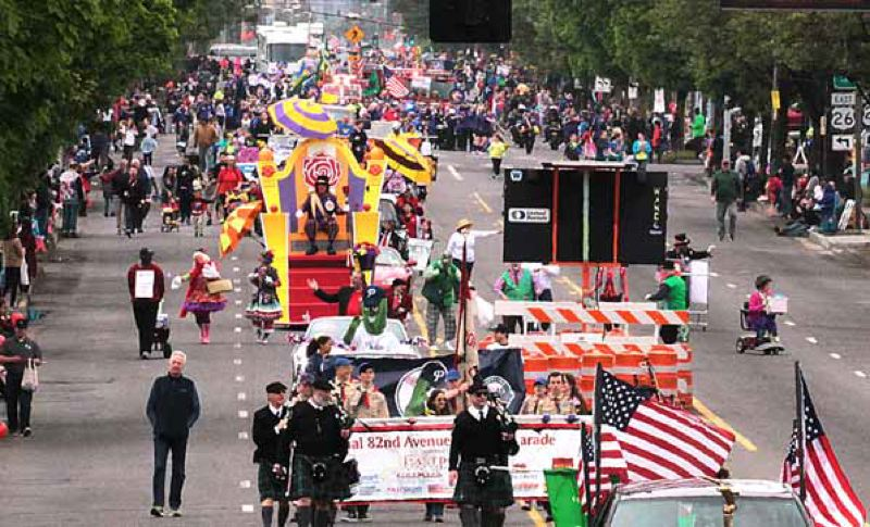 COURTESY OF TREADWAY EVENTS - The 11th annual 82nd Avenue Parade will return this year on Saturday, April 28.