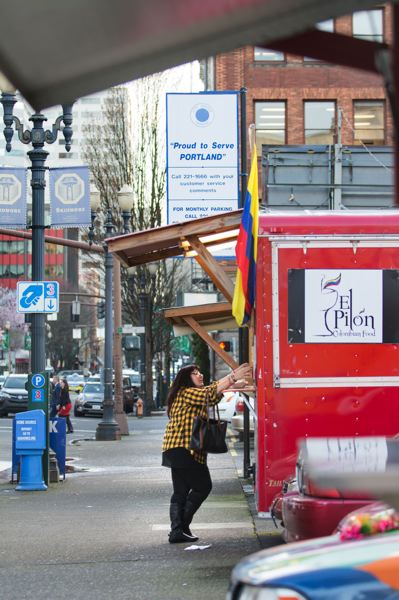 FILE PHOTO - Forest Grove has a long way to go before it becomes a food cart haven on par with Portland (pictured), but the mobile vendors are growing in popularity.