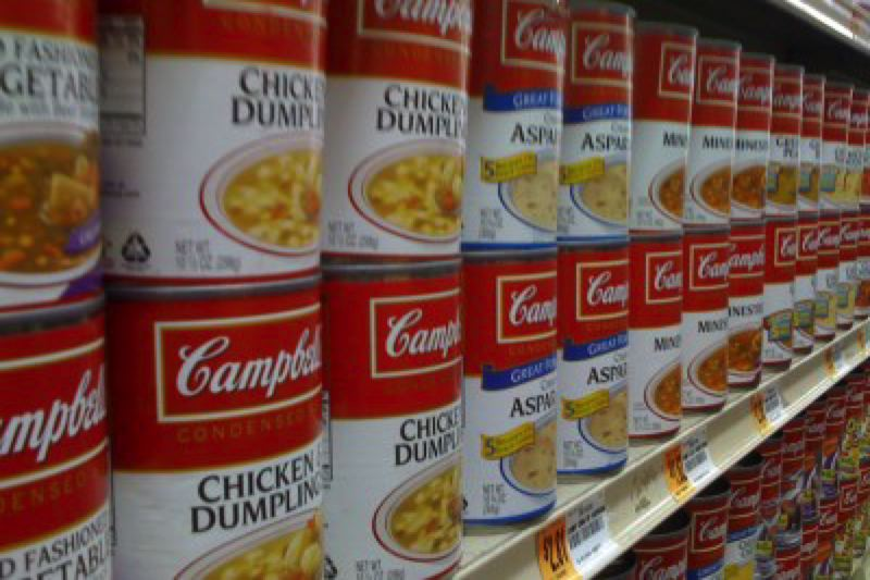 PHOTO COURTESY MATTHEW HURST, FLICKRCC. - A good old can of soup might not be as good for you as you would expect, given the toxic chemicals in the lining of the can itself.