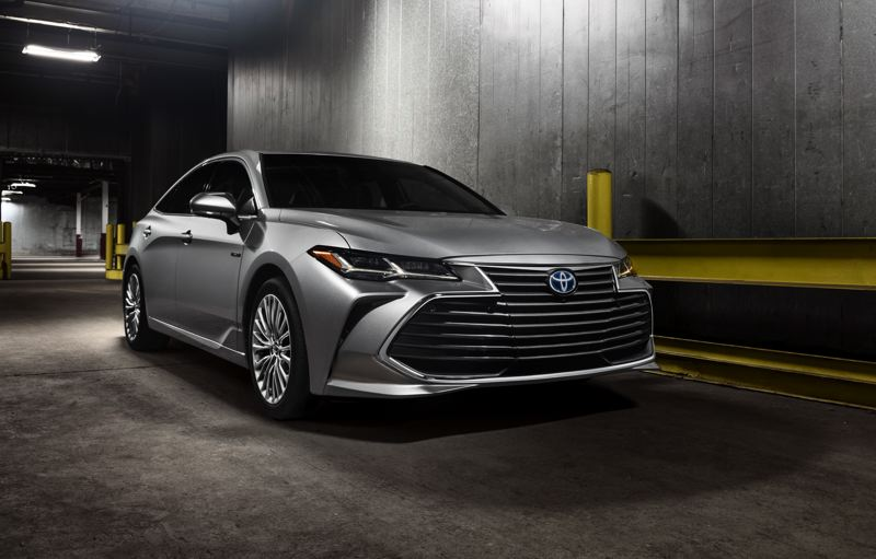 PORTLAND TRIBUNE: JEFF ZURSCHMEIDE - or the 2019 Avalon update, Toyota went bold with the styling. There's more sculpture to the sides of the car, and a big wide front grille that you're either going to love or hate. But either way, the Avalon is now fully modern and definitely not stodgy.