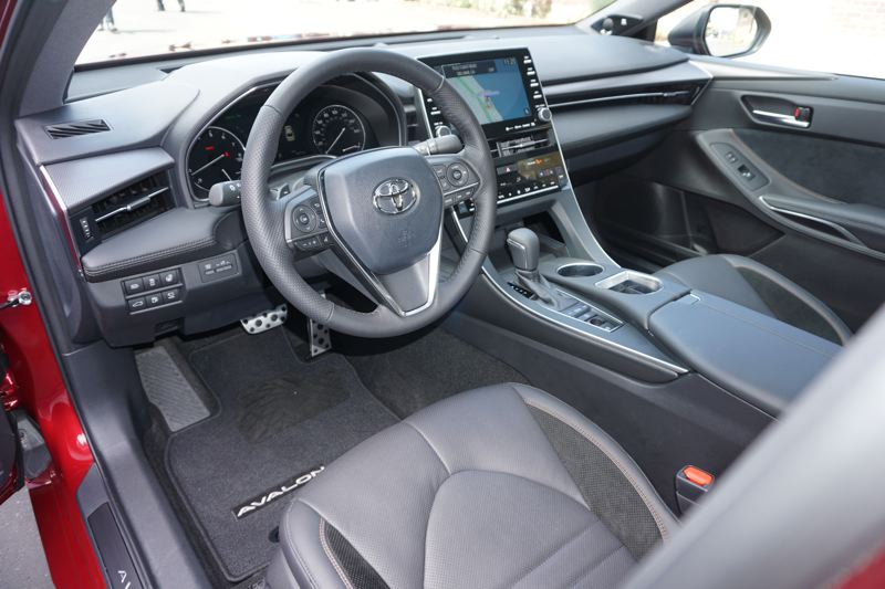 PORTLAND TRIBUNE: JEFF ZURSCHMEIDE - The 2018 Toyota Avalon can be upgraded to a leather interior and most advanced automotive technologies.
