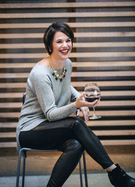 TRIBUNE FILE PHOTO - Carrie Wynkoop and Cellar 503 winery hosts Pour Oregon, April 29. Wynkoop has worked to promote her winery, Pour Oregon and environment as 'not for snobs.'