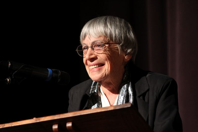 COURTESY: JACK LIU - Literary Arts and the Le Guin family will pay tribute to the late author Ursula K. Le Guin, June 13 at Arlene Schnitzer Concert Hall.
