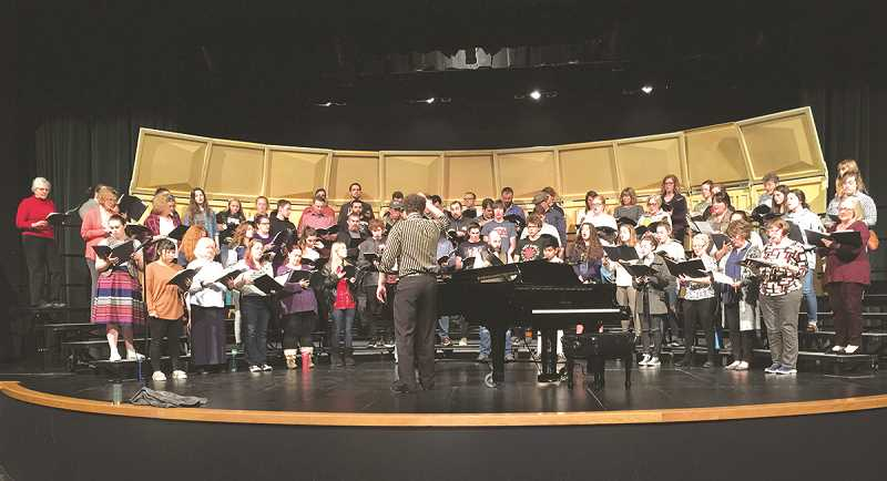 The Canby Alumni Choir will be performing April 27-28 at the Richard R. Brown Fine Arts Center in Canby.