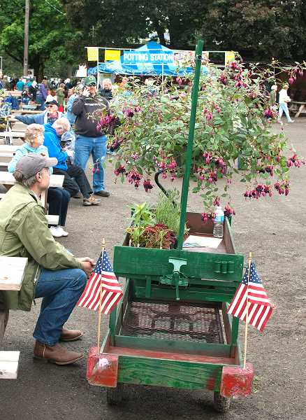 JOHN BAKER - The annual Spring Garden Fair will be held May 5-6 at the Clackamas County Event Center in Canby.