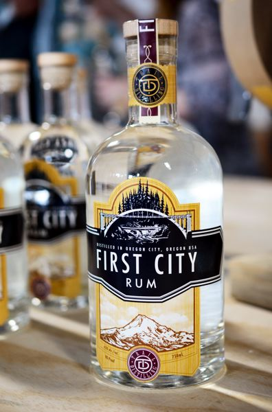 SUBMITTED PHOTO - Trail Distilling's First City Rum was made this year from Black Pearl molasses.