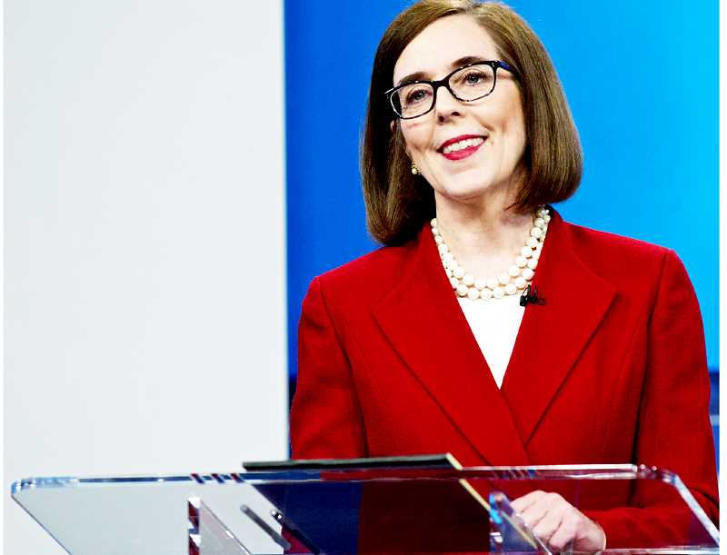 PMG FILE PHOTO - Gov. Kate Brown signed the Cleaner Air Oregon bill last week, which assesses a fee on industry to fund a program designed to reveal the health risks posed by emissions from specific factories
