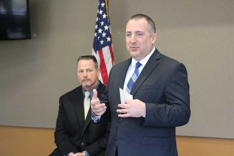 Beaverton Police Captain Jeffrey Williams said the West Linn police chief job seemed tailormade for him given his experience working in both Beaverton and Forest Grove.