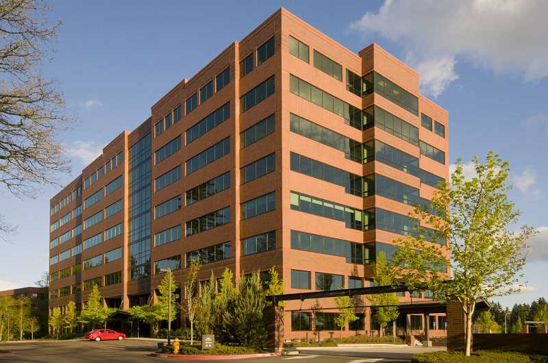 PHOTO COURTESY OF THE SHORENSTEIN COMPANY - The Kruse Woods Corporate Building, pictured here, is one of 20 buildings owned by Shorenstein Company that help make up Lake Oswego's Kruse Way Business District.