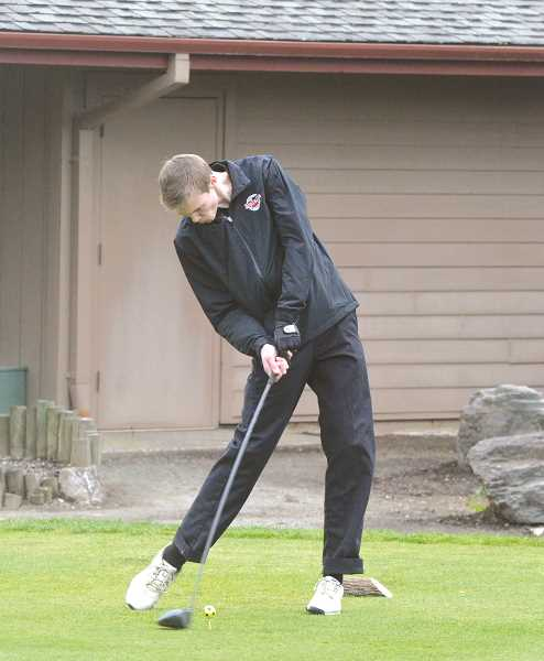 ARCHIVE PHOTO: TANNER RUSS - Molalla's boys golf team took third place in the Seaside Invitational.