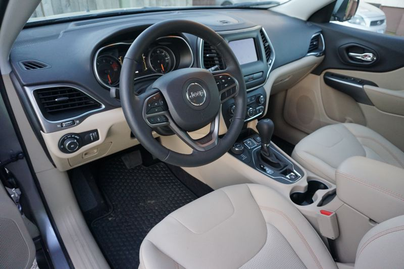 PORTLAND TRIBUNE: JEFF ZURSCHMEIDE - The Cherokee comes with a standard 7-inch touchscreen display audio system that supports UConnect 4, which supports both Android Auto and Apple CarPlay.