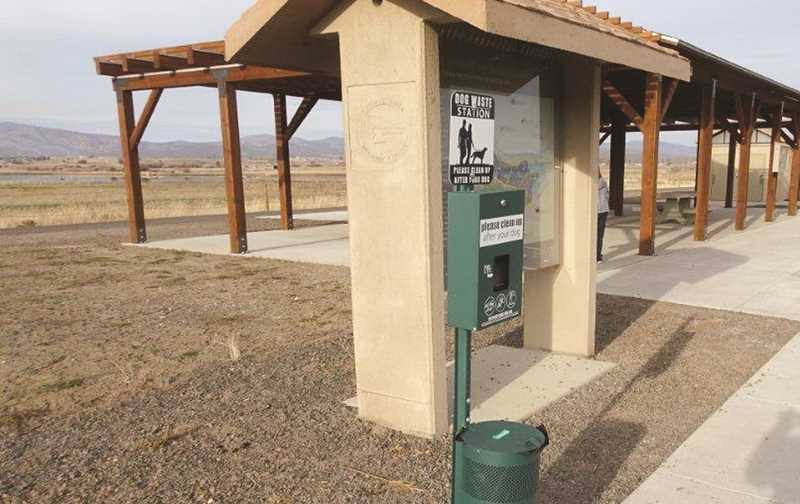PHOTO COURTESY OF CITY OF PRINEVILLE - With passage of the newly amended dog leash ordinance, dogs will be required to be on a leash at the Crooked River Wetlands Complex, while leash rules on the city's Barnes Butte property are yet to be determined.