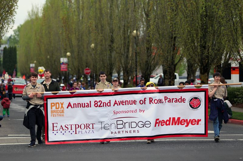 JESSIE DARLAND - The Annual 82nd Avenue of Roses Parade was the first event of the Rose Festival, and returned after being cancelled last year.